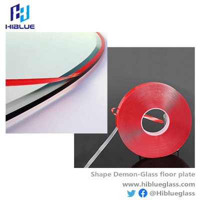 Sealing Silicone lip for glass floor plate